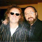 Charlie barátommal - akit a műfaj minden idők legnagyobb énekesének tartok - a New Orleans Zenész Klubban - 2005
