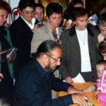 Dedikálás Besztercén 2008