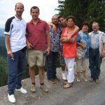 Tünde testvéremmel és családjával a Hargita tetején