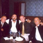 Gyermekkori barátaimmal a 60-ik születésnapomon