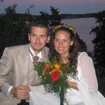 Attila fiam és felesége Elisabeth esküvője 2005